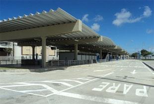 Terminal integrado de Cajueiro Seco. Foto: Clayton Leal/Cidadão repórter