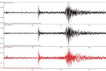Registro do evento de magnitude 2.3 pela estação NBLI (Divulgação)