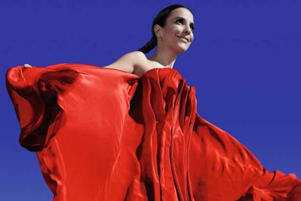 Ivete Sangalo fez uma participa��o especial no show de Marina Elali na �ltima quinta-feira. Foto: Gui Paganini/ Divulga��o