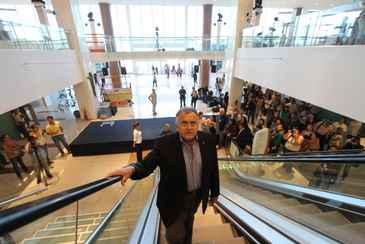 O empreendedor do shopping, o empresário João Carlos Paes Mendonça, garante que o novo mall não é elitista e vai atender a todos os públicos. Foto: Teresa Maia/DP/D.A Press