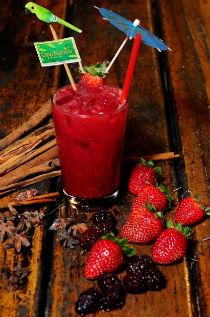 Combina��o de morango, framboesa e amora � aposta do Cip� Nativo para os menos afeitos a bebidas alco�licas  (S�rgio Lobo/Divulga��o)