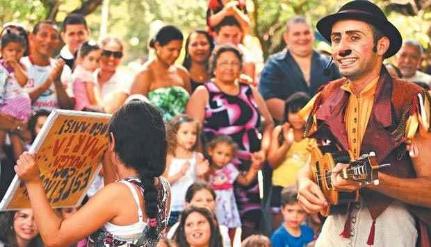 (Com espetáculos interativos, Festival de Circo do Brasil traz vários espetáculos para o Recife. Foto: Festival de Circo do Brasil/Divulgação)