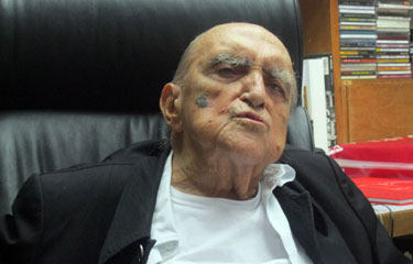 Oscar Niemeyer está lúcido e segue a fisioterapia respiratória. Foto: Ana Maria Campos/CB/D.A Press