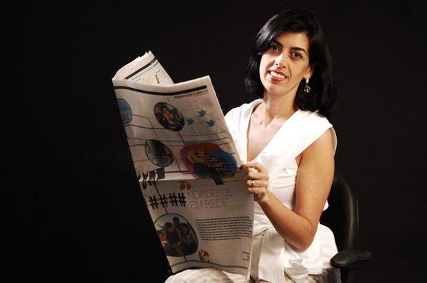 Silvia Bessa, autora do caderno especial