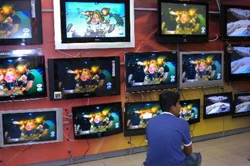 TVs de LCD e LED, notebooks e tablets devem ser os produtos mais procurados, segundo o diretor da rede (Arquivo/D.A Press)