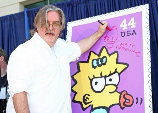 Matt Groening, o criador dos Simpsons. Foto: AFP/Getty Images Alberto E. Rodriguez