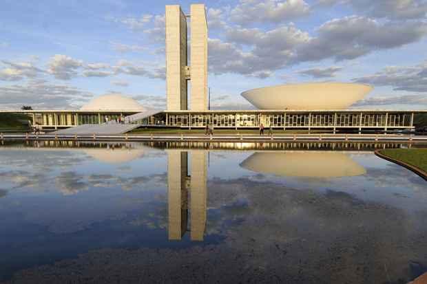 Criações de Oscar Niemeyer são o principal atrativo da capital do país. Imagem do Palácio Nereu Ramos, Congresso Nacional,  inaugurado em 1960 e tombado pelo  Iphan em 2007, quando Niemeyer completou 100 anos. Foto: ABr./Arquivo