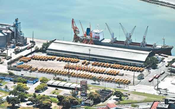 Operações de movimentação de carga renderiam entre R$ 700 mil e R$ 1 milhão por ano à unidade portuária. Foto: Wilton Marcelino/Divulgação