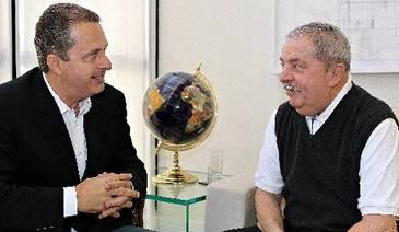 O último encontro público de Lula e Eduardo foi durante a campanha eleitoral do ano passado (Ricardo Stuckert/Instituto Lula)