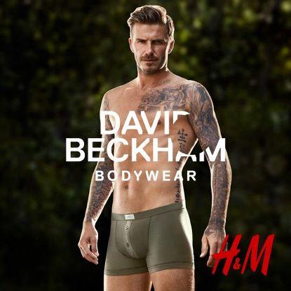 Beckham estrela a campanha Primavera 2013, da rede H&M. Foto: H&M/Divulgação