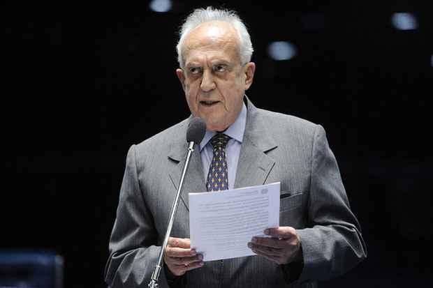 Senador Jarbas Vasconcelos � escolhido como vice-presidente da Comiss�o de Rela��es Exteriores. Foto: Pedro Fran�a/Ag�ncia Senado/Arquivo