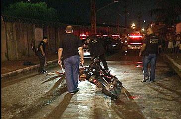 O homicídio aconteceu após uma briga na disputa por restos de comida. Foto: TV Clube/Reprodução