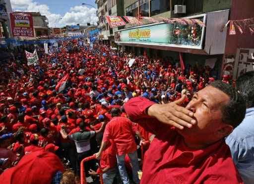 Chávez governou a Venezuela por quase 13 anos. Foto: Presidência/AFP Photo