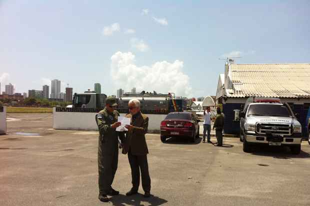 Administração do Aeroclube recebe prazo de 48 horas para desocupar o local. Foto: Tânia Passos/DP/D.A Press