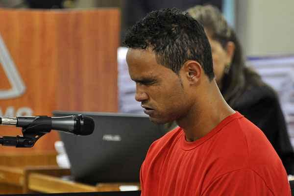 Bruno contou que Jorge fez um relato macabro sobre o assassinato de Eliza. Foto: Renata Caldeira/TJMG