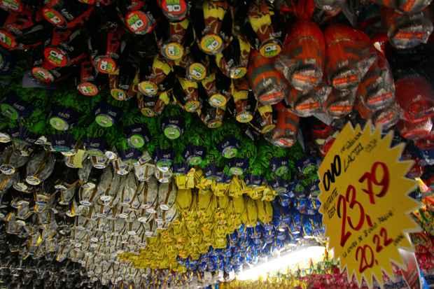 Pesquisa do Procon msotra que a diferença de preço entre os produtos pode chegar a 59,36%. Foto: Annaclarice Almeida/DP/D.A Press/Arquivo