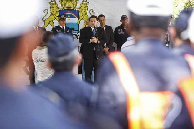 Geraldo Julio promete 2.500 agentes para a Guarda Municipal do Recife. Foto: Andréa Rêgo Barros/PCR