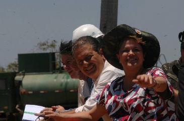 A presidente vem ao estado após 13 meses ausente no estado e depois das críticas de Eduardo Campos. Foto: Teresa Maia/DP/D.A Press (Teresa Maia/DP/D.A Press)