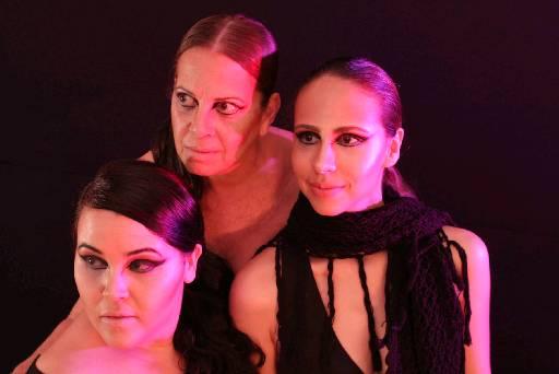 No elenco estão as atrizes Bruna Castiel, Sônia Carvalho e Manuela Costa. Foto: Andre Barreto/Divulgacao