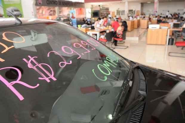 Motivo da revogação do planejado foi o mau desempenho das vendas do setor automobilístico no primeiro trimestre do ano (Rafael Ohana/CB/D.A Press)
