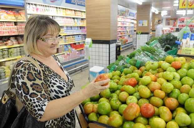 O quilo do produto, em média, custava R$ 3,83 em março nos supermercados do Recife, segundo a pesquisa do Dieese. Foto: Adauto Cruz/CB/D.A Press