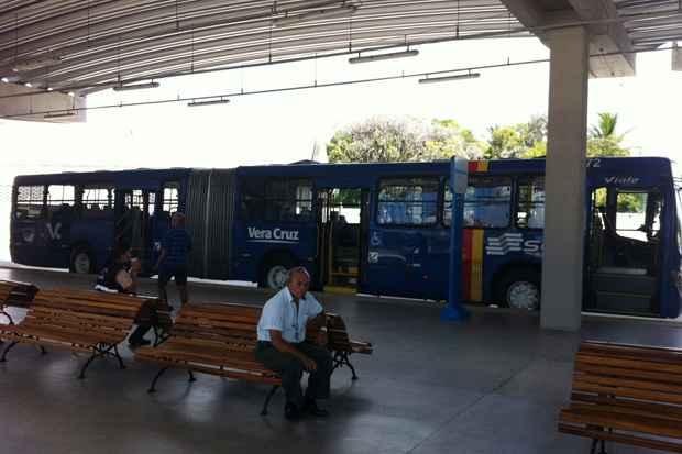 O Terminal Integrado Tancredo Neves, que está sendo ianugurado na manhã de hoje, fica na Imbiribeira, zona Sul do Recife. Foto: Glynner Brandão/DP/D.A Press