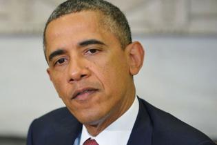 O presidente americano, Barack Obama, afirmou nesta segunda-feira que os Estados Unidos ainda desconhecem quem são os responsáveis pelas explosões na Maratona de Boston, mas prometeu encontrar os responsáveis e puni-los. Foto: Mandel Ngan/AFP Photo