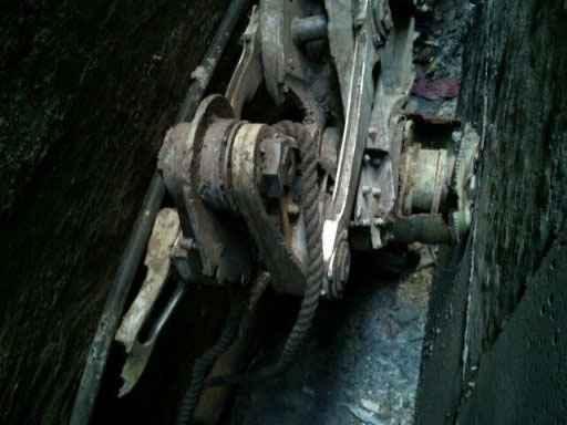 Parte de um dos aviões que atingiu o World Trade Center. Foto: NYPD/AFP Photo