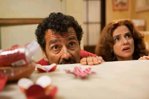 """Marieta aparece ao lado de Marcos Palmeira em """"Vendo ou alugo"""", que será exibido neste sábado no Cine PE"""