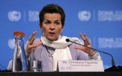 Christiana Figueres expressou preocupação e fez um apelo por uma ação