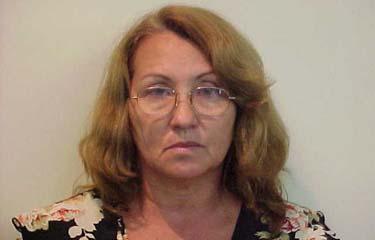 Eldênia Cavalcanti, esposa do capitão Ivo, foi presa em Boa Viagem (Polícia Federal/Divulgação)