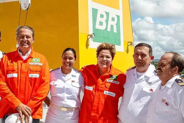 Dilma defende parcerias com o governador Eduardo Campos. Foto: Roberto Stuckert Filho/PR