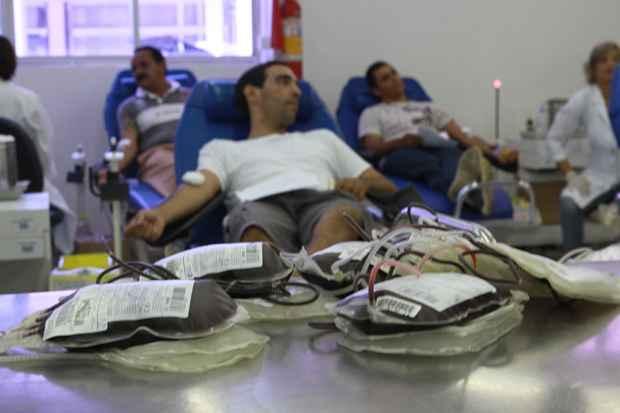 Está sendo realizada uma campanha de doação sanguínea em prol do HC. Foto: Teresa Maia/DP/D.A.Press/Arquivo