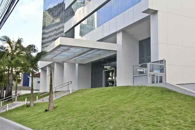 Endereço onde estaria escritório da empresa, em empresarial de Boa Viagem, é falso. Foto: Arthur de Souza/Esp. DP/DA Press