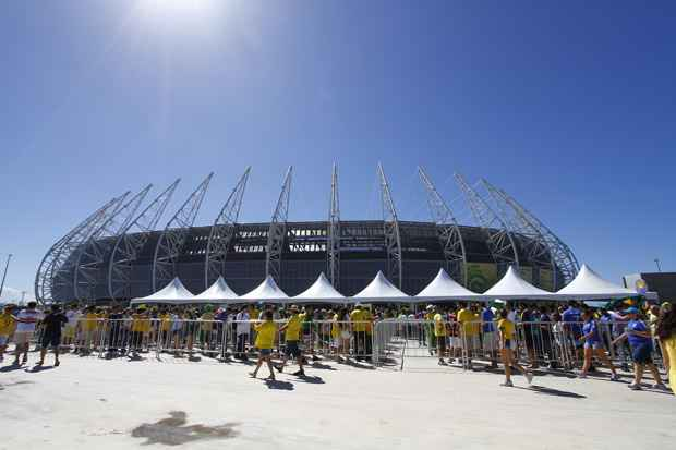 Do total, R$ 7,5 bilhões serão gastos em estádios. Foto: Ricardo Fernandes/DP/D.A Press/Arquivo