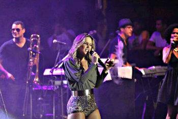 Claudia Leitte vai cantar 28 músicas. Crédito: Robson Senne/AgFPontes/Divulgação