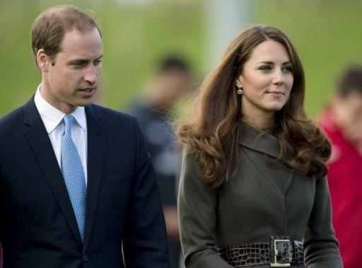 Kate, duquesa de Cambridge e esposa do príncipe William da Inglaterra, foi internada nesta segunda-feira no hospital St Mary de Londres para dar à luz seu primeiro filho, que será o terceiro na linha de sucessão ao trono britânico. Foto: Adrian Dennis/AFP Photo/Arquivo