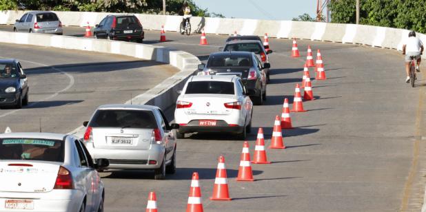 Foto: Roberto Ramos/DP/D.A Press. Radar vai fiscalizar velocidades dos veículos. (Roberto Ramos/DP/D.A Press)