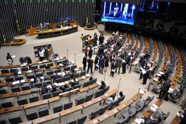 Apresentação de projetos e assiduidade nas sessões podem ser indicativos do desempenho parlamentar. Foto: Zeca Ribeiro/Câmara dos Deputados (Zeca Ribeiro/Câmara dos Deputados)