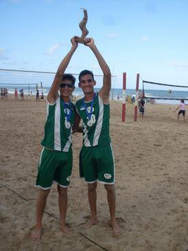 Esta foi a primeira vez que o vôlei de praia fez parte dos JEPs. (www.colegioboaviagem.com.br)