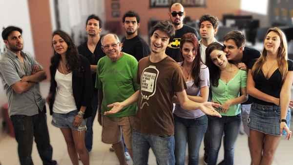 A toca vai mostrar os bastidores do grupo Parafernalha. Foto: Netflix/Divulgação