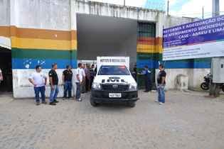 Adolescente encontrado morto em cela na Funase.Foto: Julio Jacobina/DA/D.A Press (Foto: Julio Jacobina/DA/D.A Press)