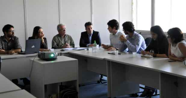 Reunião deve se repetir em dez dias. Foto: Ivanildo Francisco/Prefeitura do Recife (Ivanildo Francisco/Prefeitura do Recife)