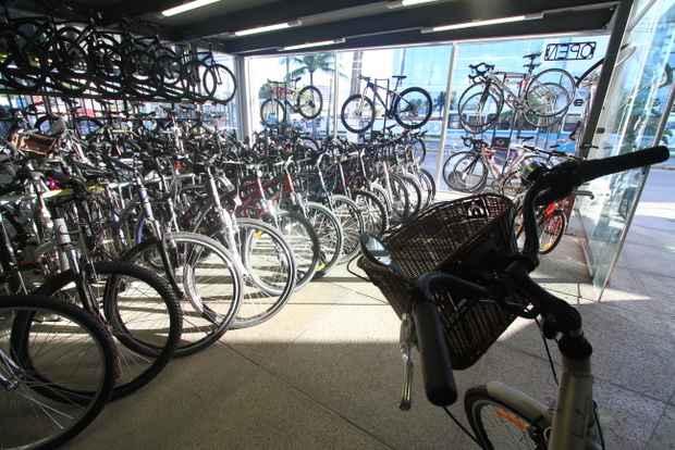 Segmento fechou 2012 com incremento de 5,9% na produção, em relação a 2012 e em 2013 a produção de bicicletas poderá chegar aos 4,5 milhões de unidades. Foto: Annaclarice Almeida/DP/D.A Press (Annaclarice Almeida/DP/D.A Press)
