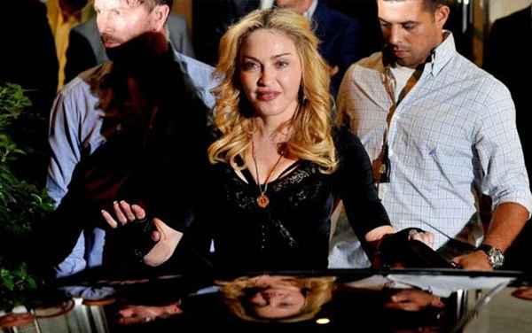 Madonna faturou US$ 125 milhões em 2013 e se tornou a celebridade mais bem paga do ano. Foto: Tiziana Fabi/ AFP PHOTO