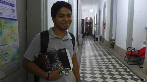 Antonio Oliveira acredita que a Lei de Cotas ajudará muitos a vencer o ciclo da pobreza. Foto: BBC Brasil/Divulgação