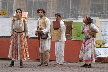 Espetáculo Ser TÃO ser, do grupo Buraco d'Oráculo.  (Augusto Paiva/Divulgação)