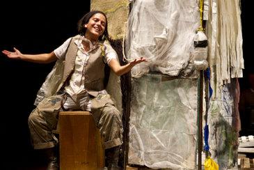 Espetáculo inspirado na obra de Josué de Castro é encenado no Recife (Alan Oju/Divulgação)