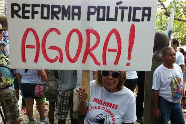 Reforma Política é uma das reivindicações no Grito dos Excluídos. Foto: Teresa Maia/DP/D.A Press