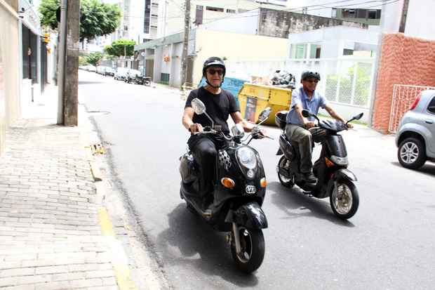 As bikes elétricas podem ser divididas entre pedelecs e mopeds. Foto: Bruna Monteiro/DP/D.A Press